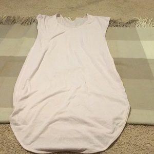 Lululemon light pink short sleeve dress size 4